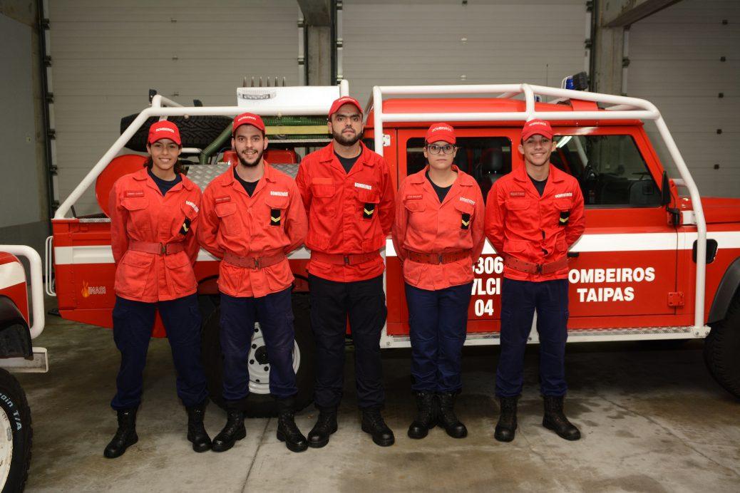 Bombeiros das Taipas contam com 6 novos bombeiros – Jantar encerramento DECIR 2018
