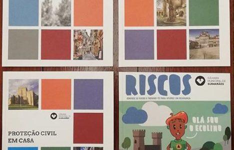 Câmara de Guimarães lança manuais informativos dedicados à proteção civil.