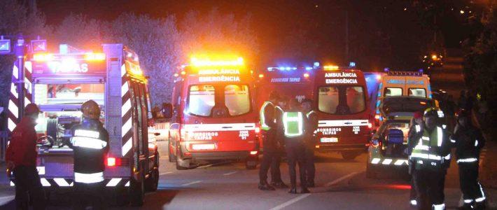 Acidente com seis feridos em Briteiros São Salvador